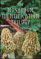 Mushroom Identification Trilogy, DVD, Mushrooms, Photo/Film, Taylor Lockwood, G,