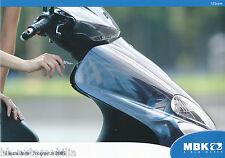 Prospekt MBK 125 ccm Motorroller 2005 (D) brochure scooters prospectus broschyr