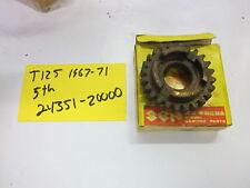 Suzuki T125 1967-71  oem 5th gear driven 24351-20000