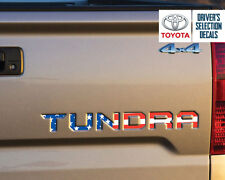 Toyota Tundra Tailgate USA Flag Vinyl Letter Decals Stickers