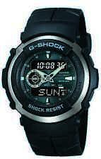 Casio G-Shock Men's Street Rider Black Resin Sport 44mm Watch G300-3AV