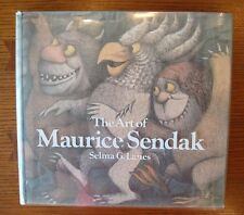 The Art of Maurice Sendak - Selma G. Lanes - 1981 HC w/DJ Harry N. Abrams