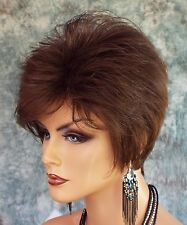 Sythetic Short Hair Wig for Women  COLOR Medium Brown  CUTE STYLE 1165