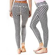 Women Sports Yoga Pants Leggings Running Gym Ladies Workout 3D Print Trousers UK
