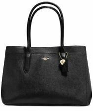 NWT COACH BALLEY Carryall Tote Black Shoulder Bag 24218 LEATHER  MSRP$295