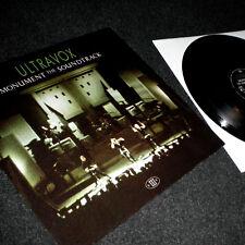 Ultravox - Monument The Soundtrack Live LP 1983 Vinyl