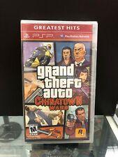 Grand Theft Auto: Chinatown Wars / Sony Psp / Brand New.