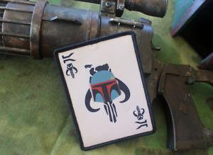 Fett Death Card Uniform Patch Tactical Outfitters The Mandalorian Boba Fett