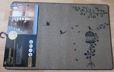 ELEGANCE INDOOR BIRDCAGE LEAVE TREE DESIGN SLIP RESISTANT DOOR 50 X 75CM