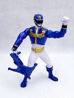 Bandai Battle Morphin Blue Ranger Mega Force MMPR Power Rangers Figure 2012