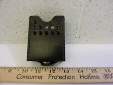 Vintage Cow Hide Leather Pager Case Radio. telephone.