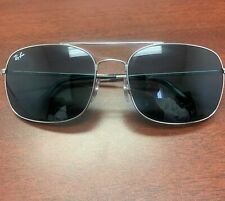 Mint Ray Ban Aviator Silver Chrome 60mm Aviator Gray Lens Sunglass RB 3611 003