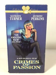 Crimes Of Passion [VHS, Movie] Cult Crime Comedy *Oop
