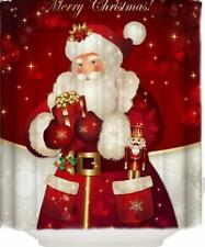 "Libaoge Shower Curtain Santa Claus Waterproof Polyester Fabrics 66"" x 72""  #11"