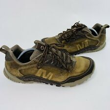 Merrell Mens Annex Trak Low Cloudy Hiking Shoes Brown J31801 Lace Up Top 11.5