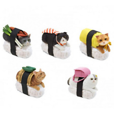 New listing Kitan Club Japanese NekoZushi Sushi Cat Enamel Metal Series One - 1 Nya-ta charm