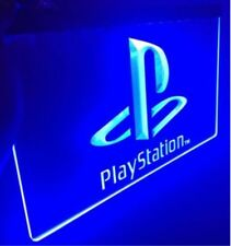 PLAYSTATION LED Sign for Game Room,Office,Bar,Man Cave US SELLER Plate Flag