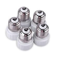 5pcs E27 to GU10 Lamp Light Bulb Extend Base Socket Converter Adaptor Adapter
