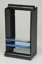 Fischer Plastic Products BLU-RAY STAND Audio Modular Racking System 1A-052 Black