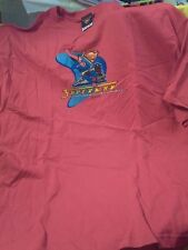 Superman t-shirt 2XL Train Faster then a Locomotive 2001 Warner Brothers NOS BIG