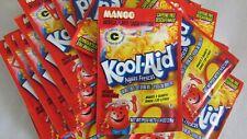 Kool Aid Drink Mix Mango Aguas Frescas 10 count retired vintage flavor Rare HTF