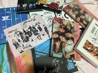 KPOP IDOL BOYS, GIRLS GROUP PROMO ALBUM Autographed ALL MEMBER Signed #0214