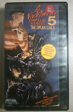 A Nightmare On Elm Street 5: The Dream Child - Ex-Rental VHS - Media Release