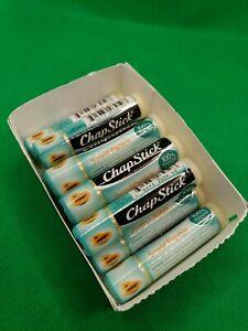 ChapStick Sweet Papaya 0.15oz Natural Lip Butter Lot of 10