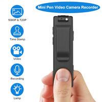 Mini 1080P Spy Clip Pen Camera Audio Motion Detection DVR Action Camera