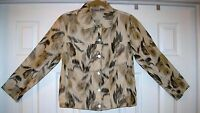 Women's Top / Jacket Chico's Size 0 or XS Light 100% Silk