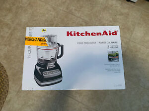 KitchenAid UltraPower 11 Cup Food Processor KFP1133 All Attachments & Used Twice