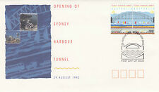 Australia 1992 Official Opening of Sydney Harbour Tunnel 29th Aug - Fdc