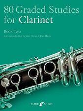 80 Graded Studies for Clarinet, Bk 2 (Faber Edition) New Paperback Book John Dav
