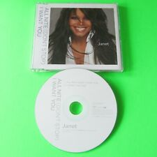 JANET JACKSON - All Nite (Don't Stop) - 2 Track CD Single (2004)
