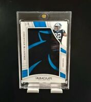 Immaculate Collection Christian McCaffery SP 1/5 RARE LOGO PATCH - Grade Ready!!