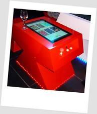 Table basse d'arcade retro gaming des années 80s au look ultra design