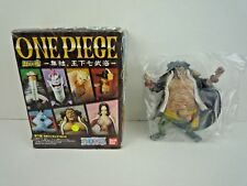 "WORLDS OF THE SEA / ONE PIECE / MARSHALL D TEACH 5"" FIGURE WITH STAND / BANDAI"