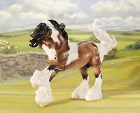 Breyer Traditional Series Gypsy Vanner Bay Pinto Horse Model #1497