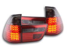 Led Rückleuchten BMW X5 Typ E53 Bj. 98-02 schwarz/rot Led Rückleuchten BMW X5