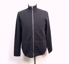 SNS Naval Full Zip Dark Navy Blue Sweater  Large NWT Retail $225