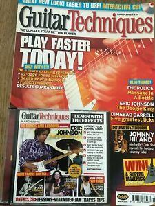 Guitar Techniques magazine & CD: March 2005