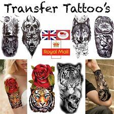 Fake Tattoos Realistic Tattoo Stickers Removable Tattoo Half Sleeve Tattoo UK