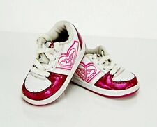 Roxy Kids Sneakers & Athletic  Pink White Shoes SIZE 6
