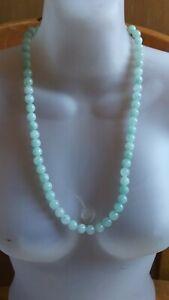 China 61 beads Jadeite Jade Necklace 玉 项链