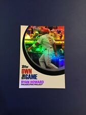 2007 Topps #OTG1 RYAN HOWARD Philadelphia Phillies Pack Fresh QTY SHARP MINT !