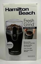 Hamilton Beach 80335R Fresh-Grind Coffee Grinder - Open Box/Used Once