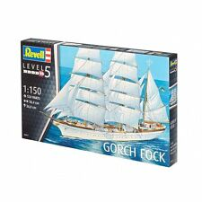 Revell Germany Gorch Fock Sailing Ship plastic model kit 1/150