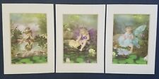 BABY FACE FAIRIES FRAMED PICTURES; SOFT AND SWEET! -FREE SHIPPING