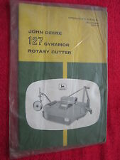 VINTAGE ORIGINAL JOHN DEERE 127 GYRAMOR ROTARY CUTTER OPERATORS MANUAL