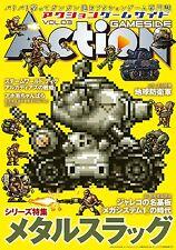 Metal Slug Game Art and Guide Book Action Gameside Vol.3 Neo Geo SNK Japan